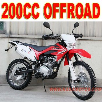 Off Road 200cc Motor Bike