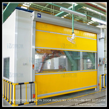 Industry fast rapid indoor roller shutter electric high speed rolling door