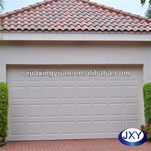 Cheap single panel automatic garage door factory