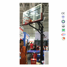 Hot sale height adjustable inground basketball stand office basketball hoop