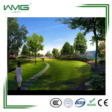 Low price waterproof landscaping synthetic grass for garden