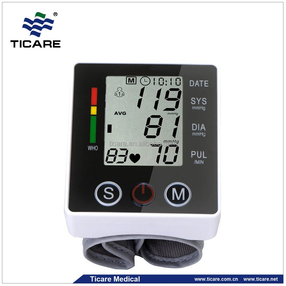 Wrist Watch Electronic Blood Pressure Monitor