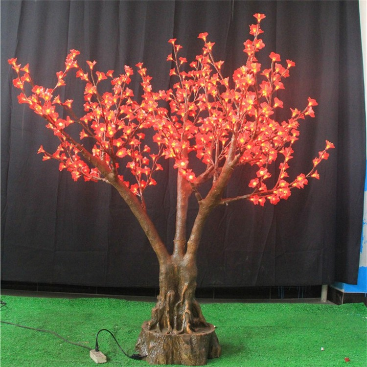 China supplier Shengjia guzhen factory led christmas decorations outdoor lighting tree