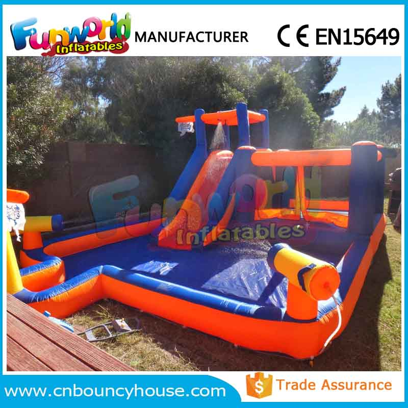Exciting inflatable water park backyard inflatable water park