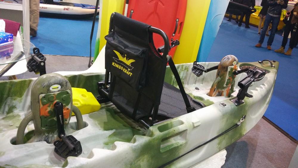Two person pedal drive kayak buy double kayak fishing for Pedal drive fishing kayak