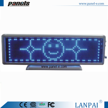 China new products 16x64 dots real estate agent window led display
