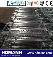 Corrosion resistant straight cable ladder