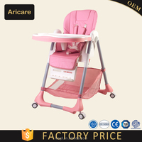 2017 New Design Baby High Chair Aricare with EN14988