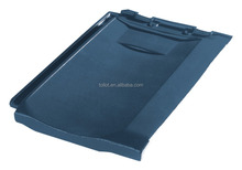 Manufacturer Building Materials Ceramic Roof Tiles Blue 400*270 with Free Samples