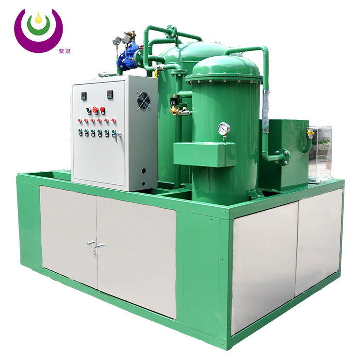 Automatic Backwashing used hydraulic oil filtration machine