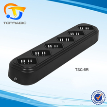 Topradio Walkie Talkie 6 Unit Charger For TYT UV-F9 UV-E5 UV-E6 Handheld Rapid Multi Charger