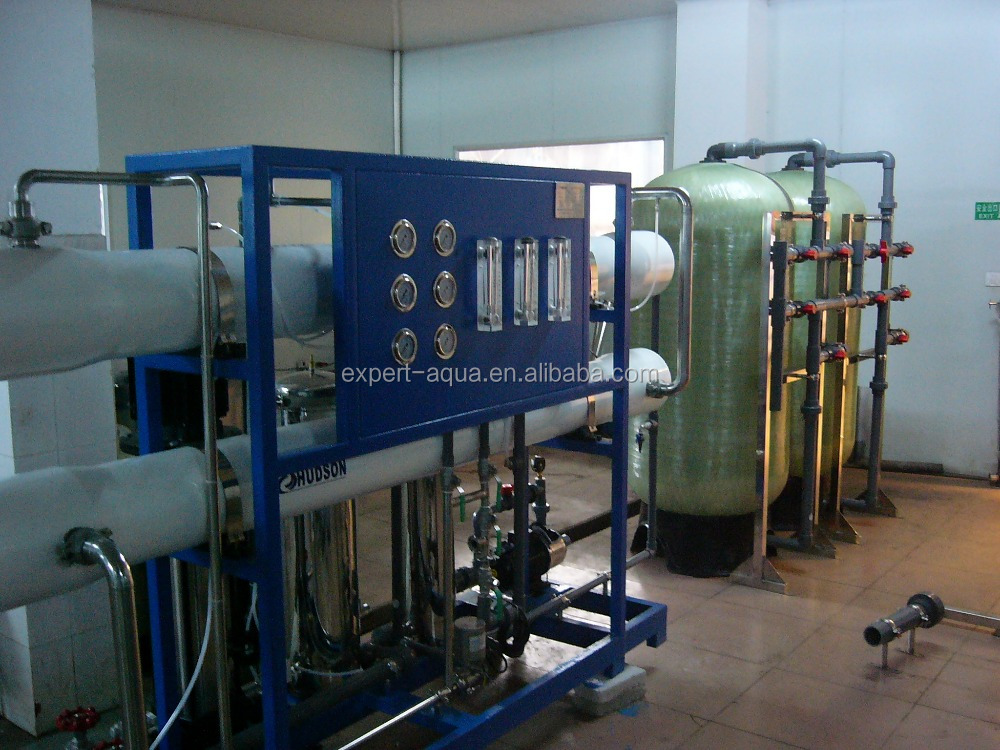 ro plant water purification system with uv sterilizer