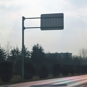 Hot Sell Pedestrian Traffic Sign Pole Road Sign Boards Road Safety