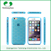 Anti-throw soft TPU material durable transparent for iphone 6 case back covers
