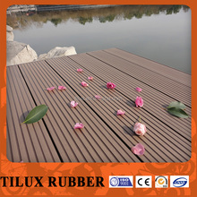 outdoor swimming pool wood composite decking with CE certificiate