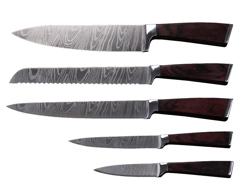 Damascus wood carving knife pakistan