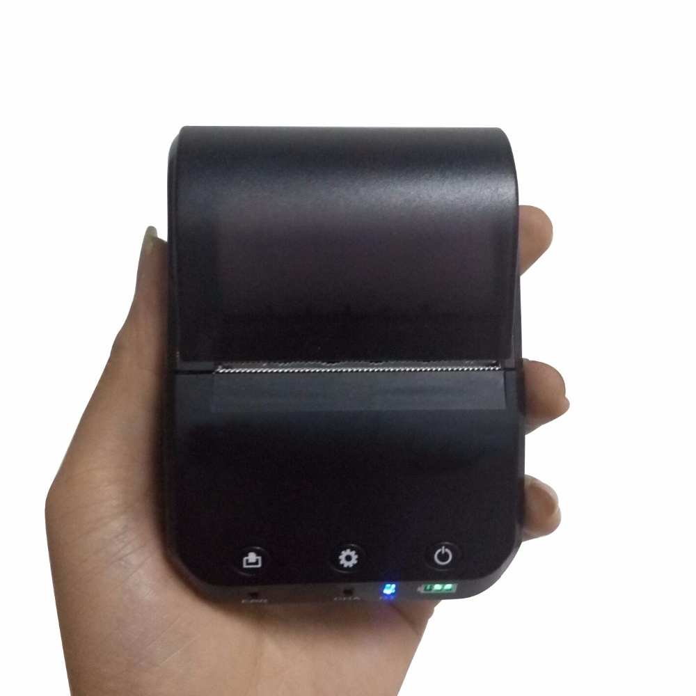 mini mobile Bluetooth Portable Thermal receipt Printer 58mm best quality