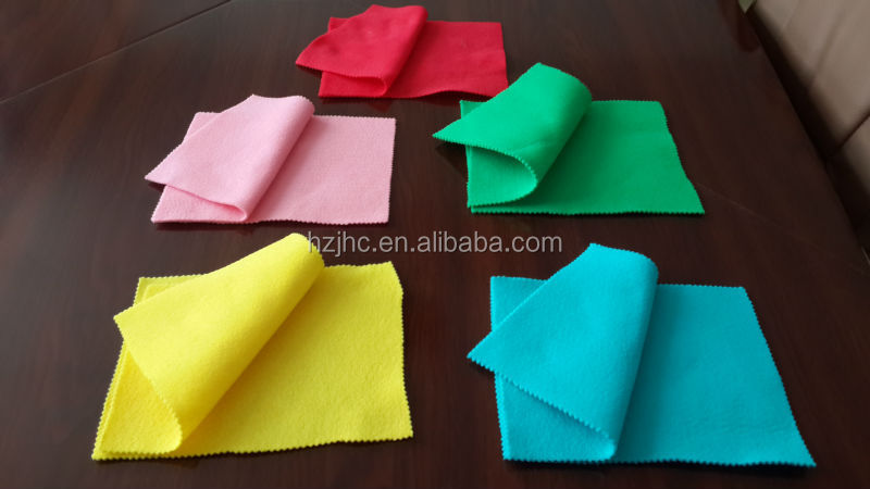 Needle punch nonwoven 3D handmade wool craft felt flower fabric