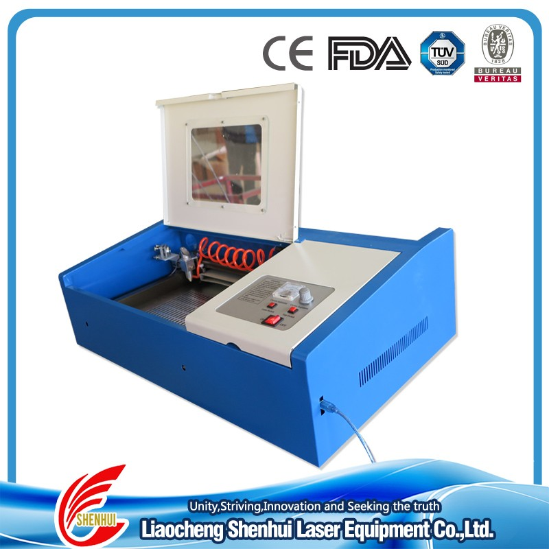 40W co2 laser engraving cutting machine laser engraver