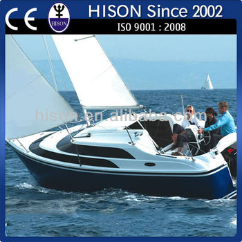 China manufacturing Hison 26ft personal Sailboat!