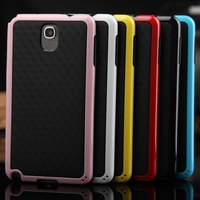Hybrid Double Color TPU + PC Soft Case Cover For Samsung Galaxy Note 3 III N9000