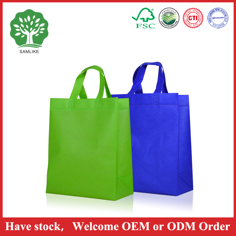 China manufacturer cheap nonwoven promotion bags for shopping