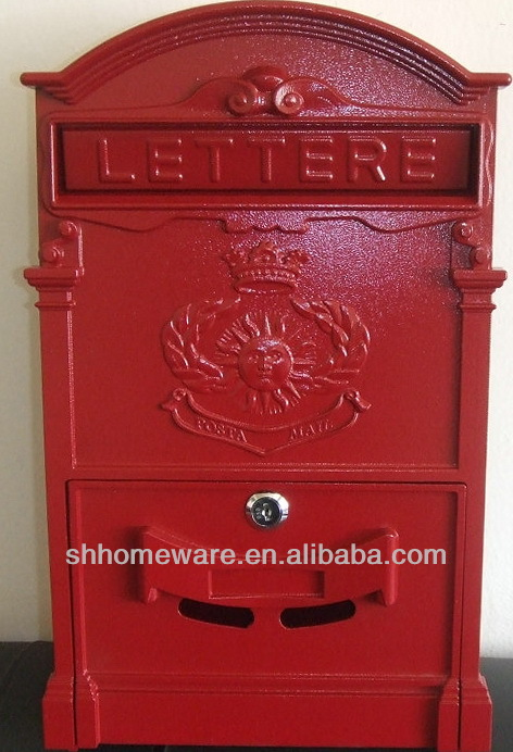 cast iron mailboxes