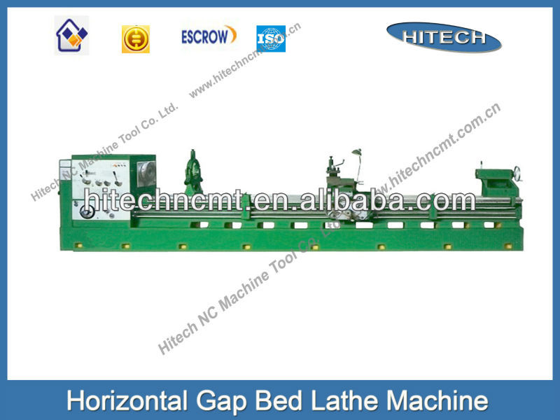 Horizontal gap bed lathe machine or lathe bed CZ6280x4000