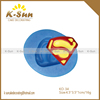 K-sun reposteria superman logo silicone fondant mould China supplier