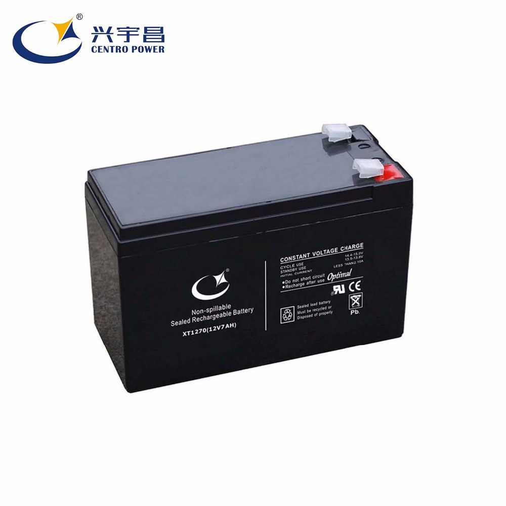 12V7ah Rechargeable AGM sealed lead acid <strong>battery</strong> for access control 6FM7