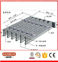Construction material Stainless serrate steel flat bar