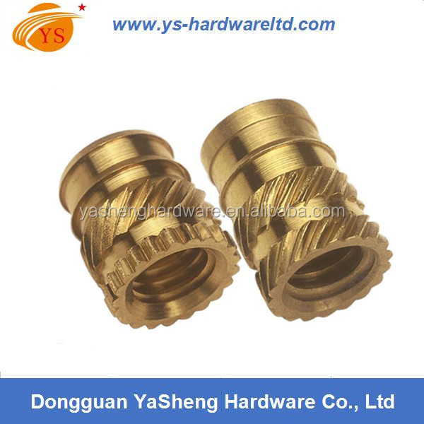 Brass Threaded Inserts for Plastics, Furniture Insert Nuts for Wood, Connection Brass Insert ppr Pipe Fitti