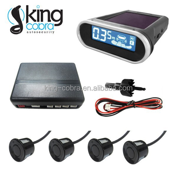 Universal car backup assist with solar power wireless LCD screen