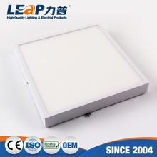 3 Inch 8W Super Thin Square Surface Mounting Energy Saving Led Panel Light(White Side Light-Emitting)