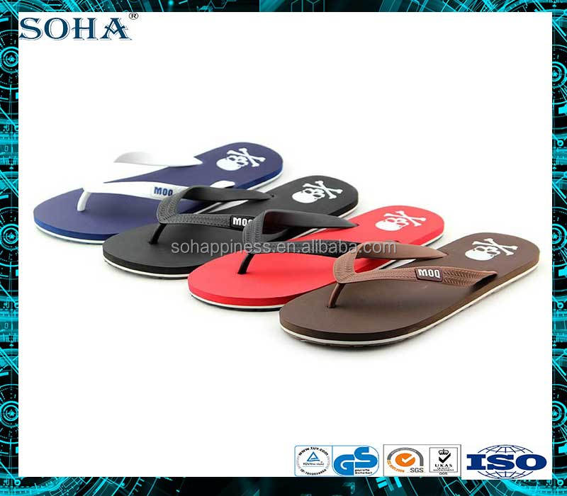Same quality of higher rubber content havaina massage flip flop with logo