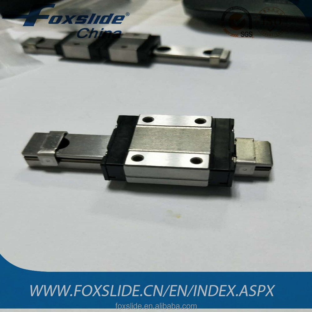 Stainless Steel Linear guide Bearing for 12mm Width MiniatuLinear Guide Rail