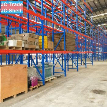 Metal Steel Plate Warehouse Storage Rack Systems