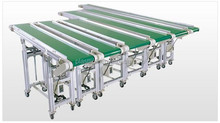 adjustable Z belt conveyor from PlastLink manufacture