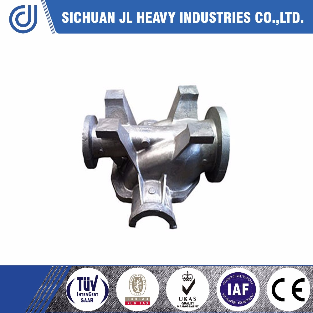 A351 CF3 alloy steel casting parts of Water pump body