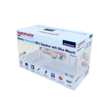 New printed clear PVC box transparent plastic folding packaging boxes