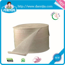 Large size scrubber sponge pad material for dish washing in roll