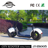 800w/1000w popular city 2 wheels electric scooter CE approved for sale
