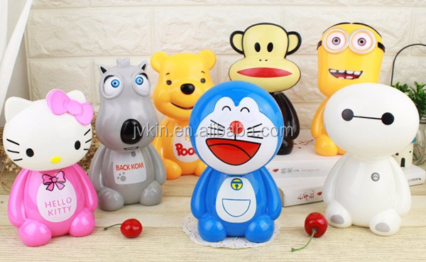 Creative cartoon energy saving eye protection learning table lamp folding gift craft LED rechargeable table lamp for children