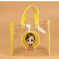 Transparent Shopping Bag Transparency Shopping Tote PVC Waterproof Bag