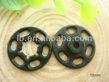 18mm plastic snap fasteners for clothes