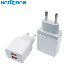 Adaptive fast charging usb ac charger us eu au plug 1 2 3 4 port 2.4a 3.4a 4.8a wall charger for Samsung