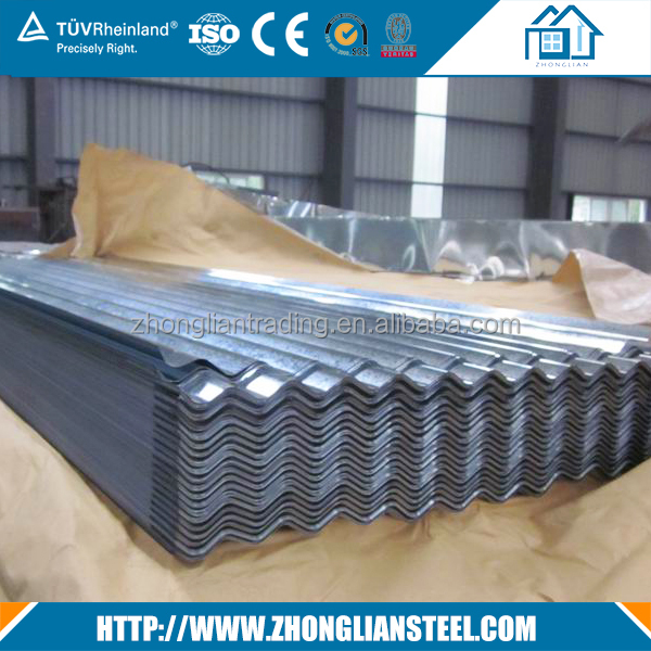 0.47 mm galvanized corrugated gi roofing sheet price philippines