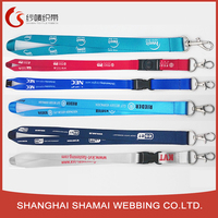 Cheap Neck Personalized Printed Polyester Lanyards
