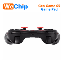 GEN GAME S5 Wireless 3.0 Bluetooth Gamepad Remote Control Joystick PC Game Controller for Smartphone/Tablet with Holder Receiver