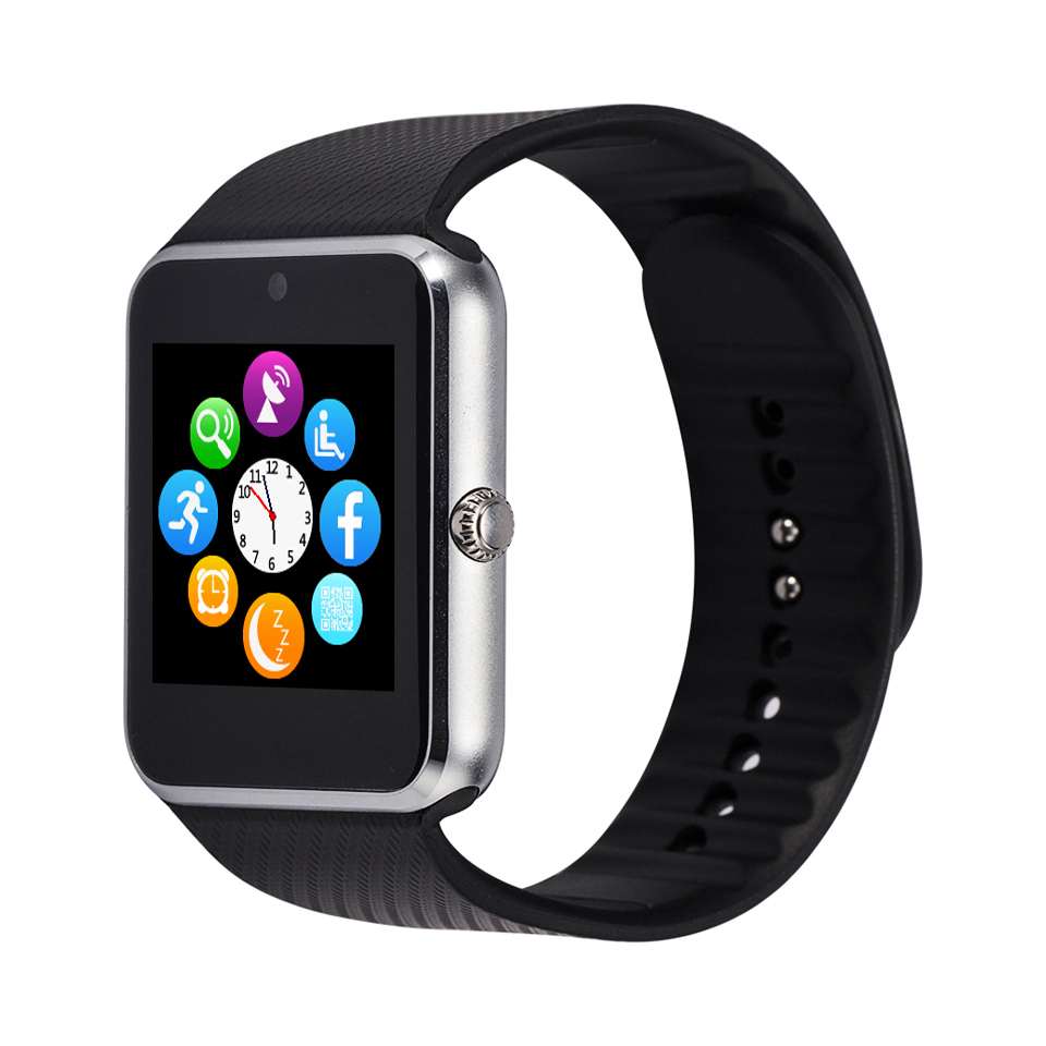 Popular Smart watch sim phone, blue-tooth smartwatch gt08 for smartphone
